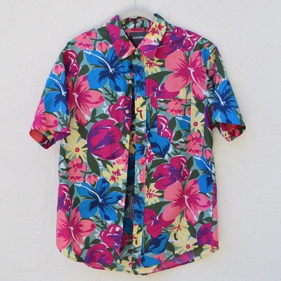 fb4559e4 Bonobos Shirts | Slim Riviera Short Sleeve Shirt | Poshmark
